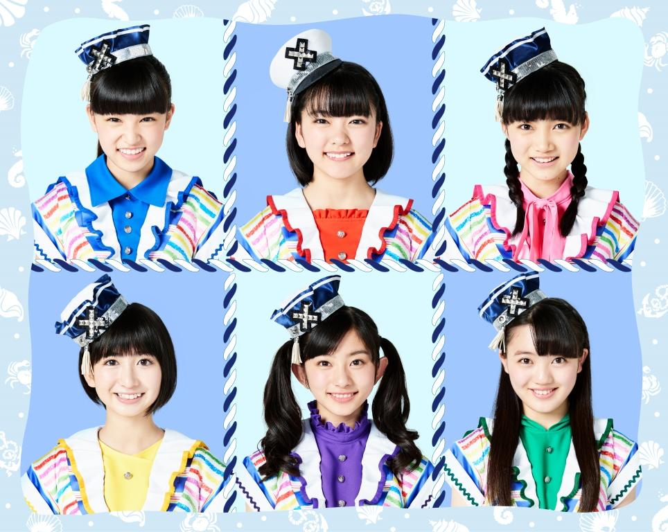 写真左上より時計回り、星野蒼良、上田理子、西垣有彩、希山 愛、瀬田さくら、春乃きいな