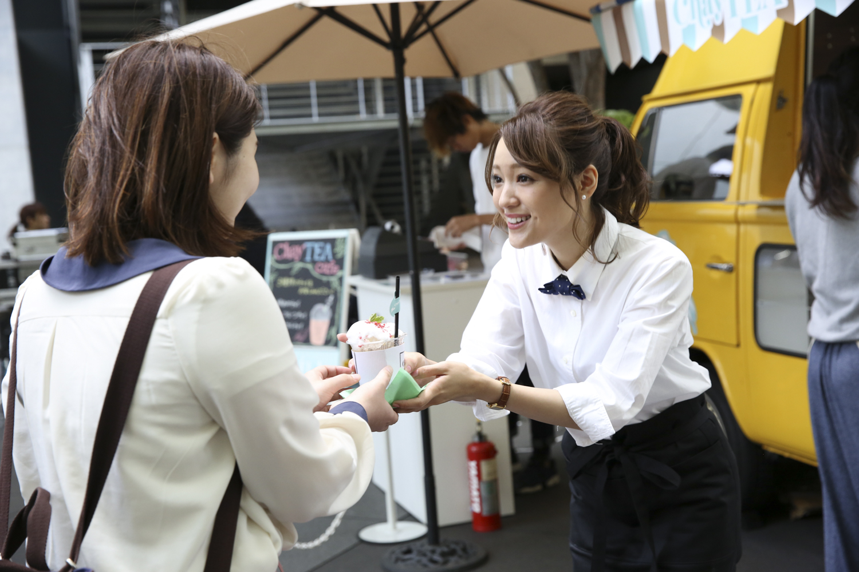 "chayが店長を務める1日限定カフェ""chayTEA""café"