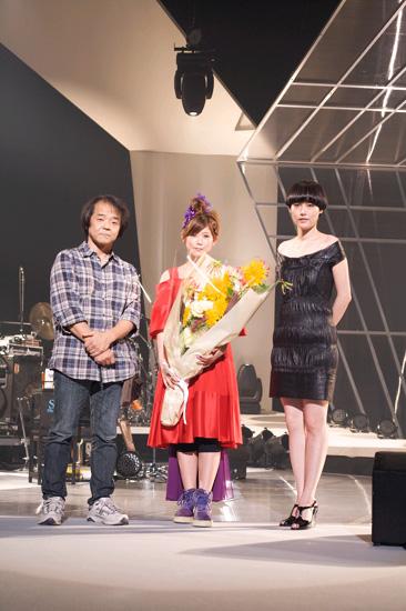 全国ツアー仙台公演に駆けつけた映画『スカイ・クロラ』の押井守監督と菊地凛子