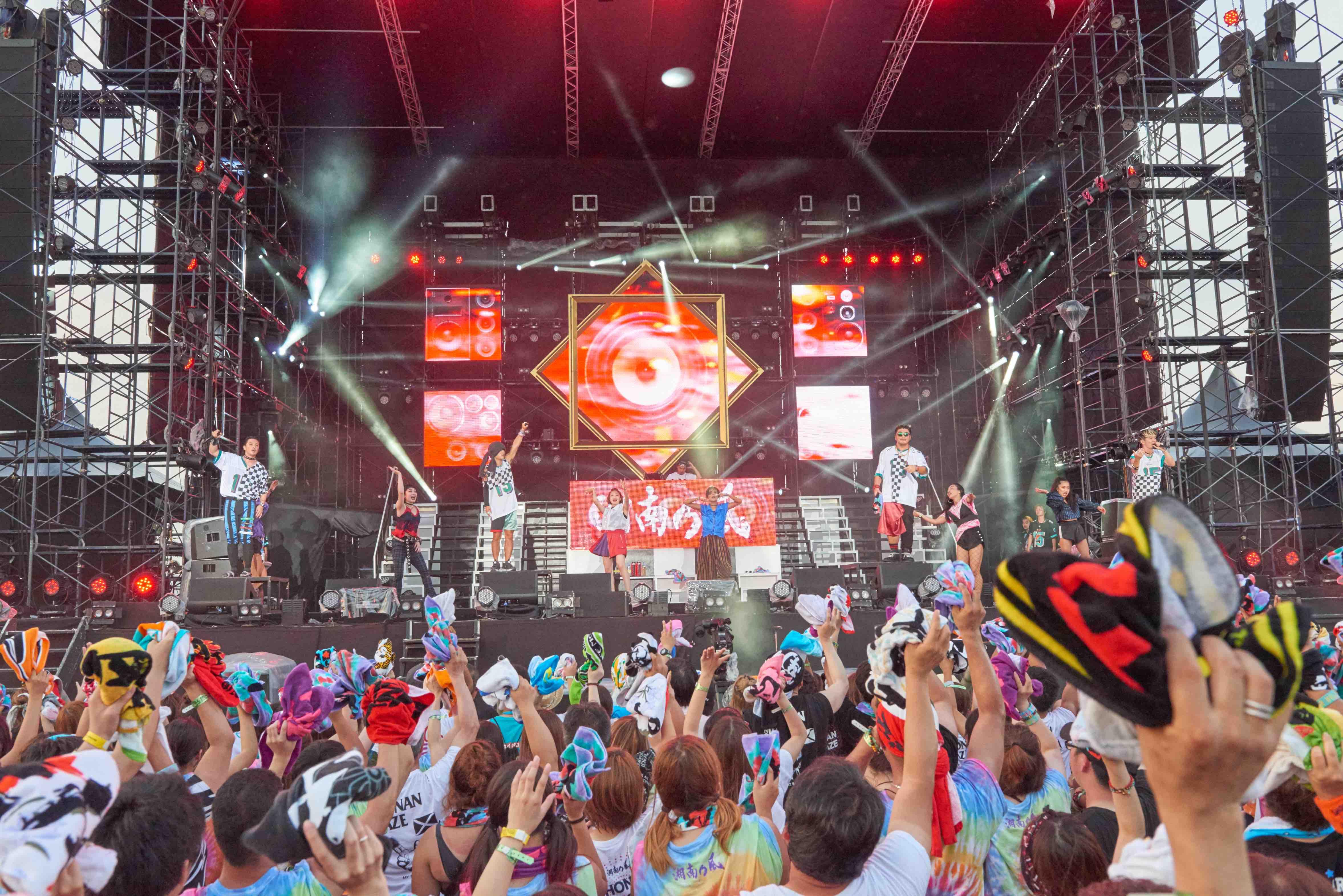 湘南乃風、初の野外ワンマンライブツアーが開幕 | OKMusic