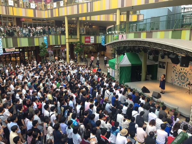 7月30日(日)@名古屋・アスナル金山 明日なる広場!