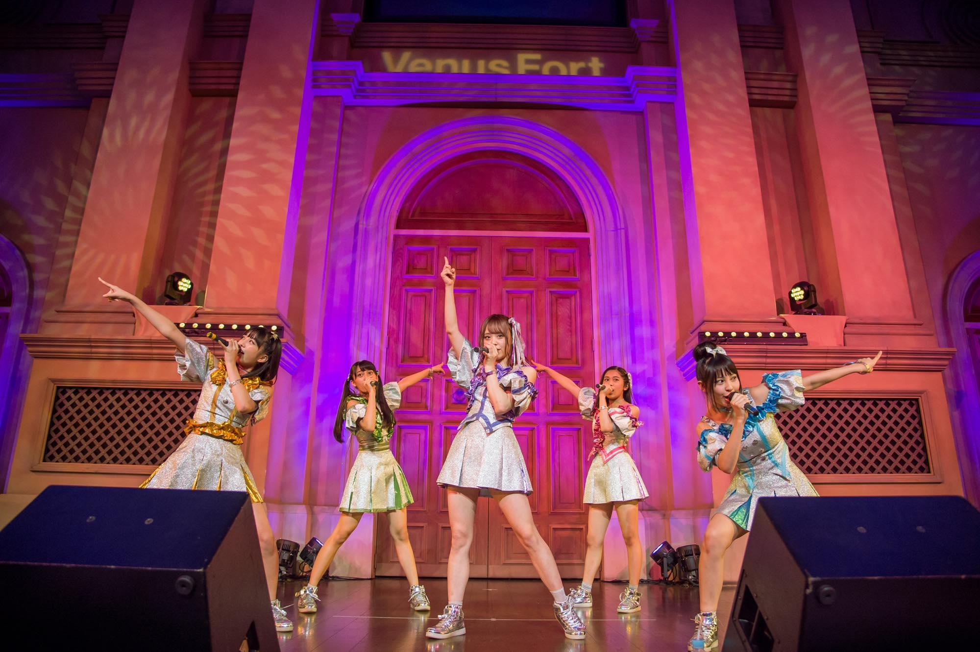 魔法アイドル「マジカル・パンチライン」1stシングル「パレードは続く」のリリースイベント開催!!