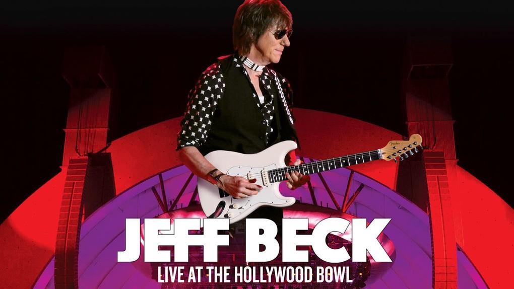 ジェフ・ベック50周年記念ライヴ「Live at the Hollywood Bowl」がリリース決定!スティーヴン・タイラー、ビリー・ギボンズ(ZZ TOP)も登場!