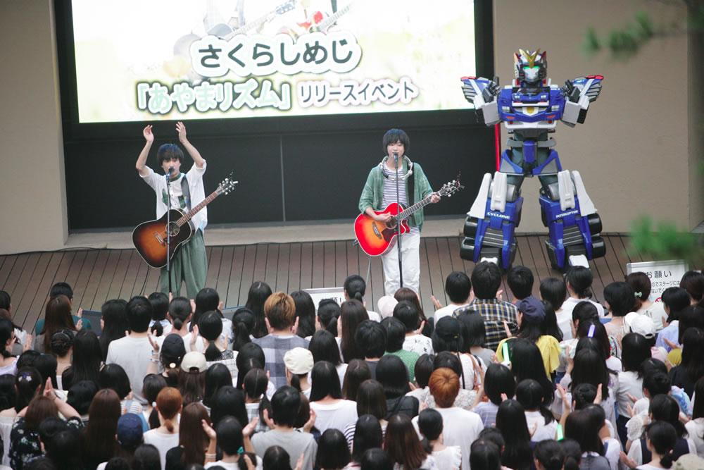 8月23日@東京ドームシティラクーアガーデンステージ
