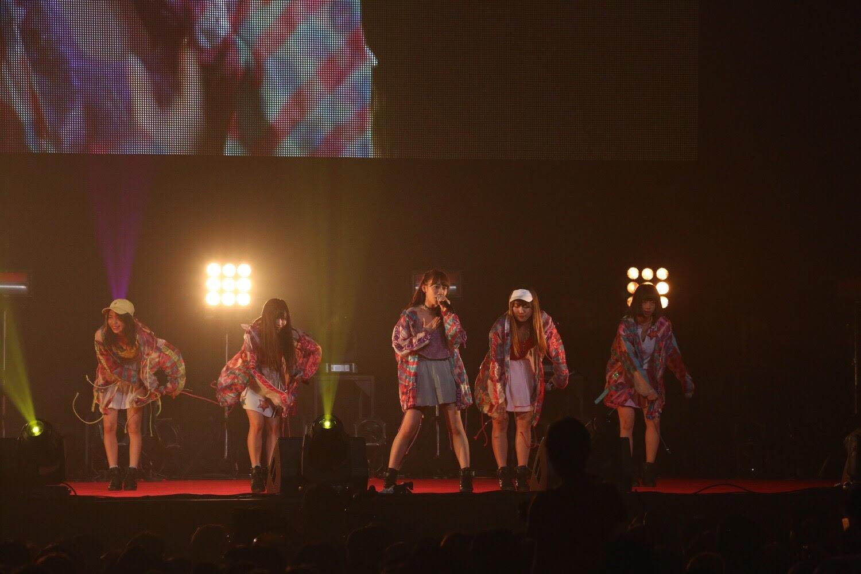 Cheeky Parade、@JAM EXPO 2017を盛り上げ、定期ライブで新曲発表を宣言!!