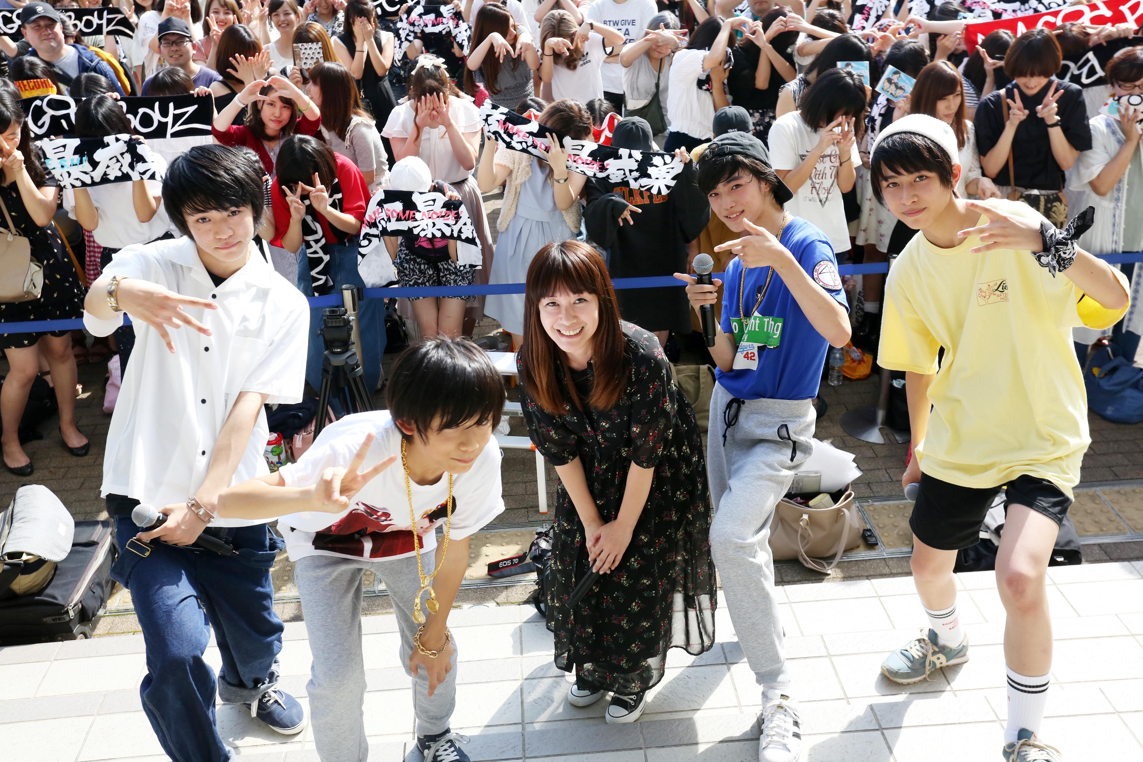 9月2日@お台場 ダイバーシティ東京プラザ フェスティバル広場