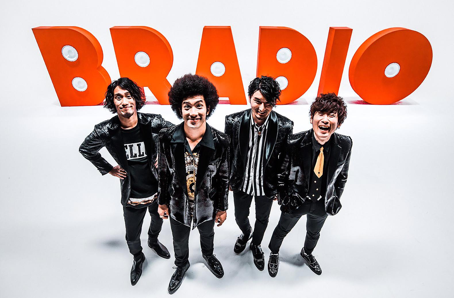 BRADIO メジャーデビュー第一弾シングル「LA PA PARADISE」音源解禁!リリイベも開催も决定!!