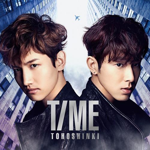 東方神起の約1年半ぶりオリジナル・アルバム『TIME』ジャケット Listen Japan