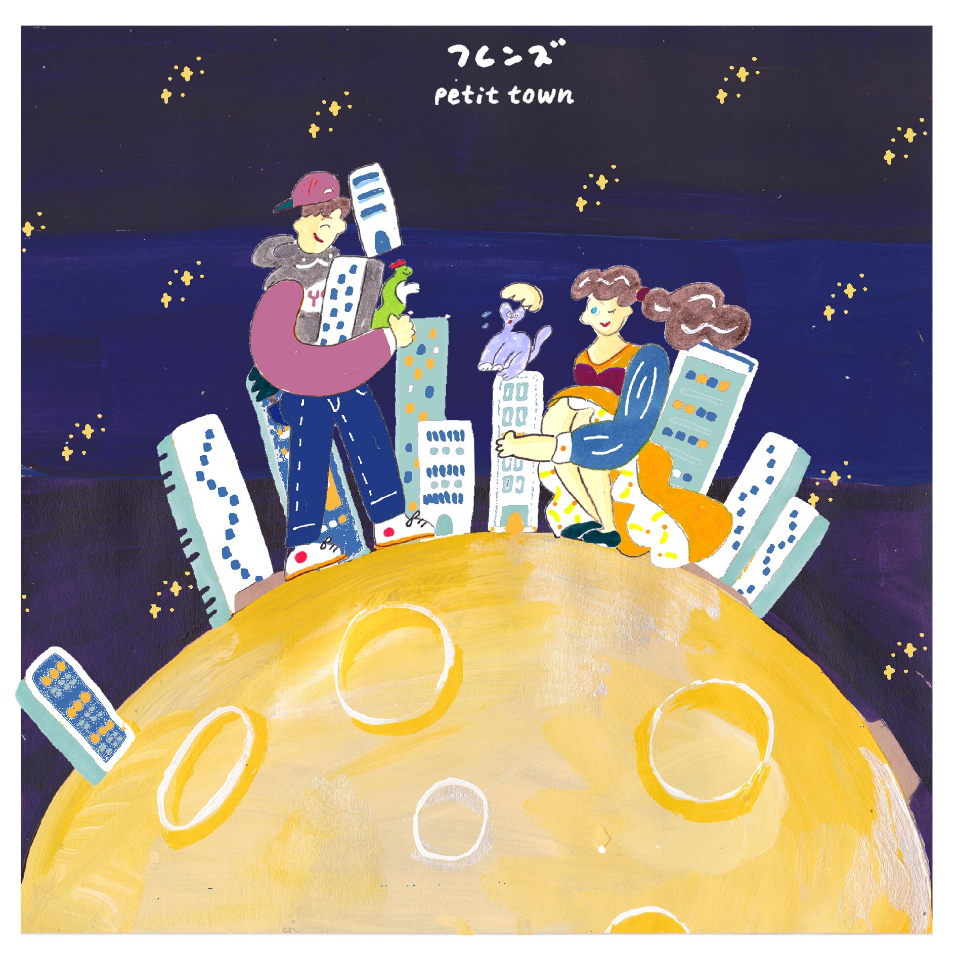 フレンズ 新曲「NIGHT TOWN」の先行配信スタート!MVも公開!監督はお馴染みの加藤マニが担当!!