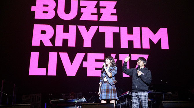buzz rhythem live17