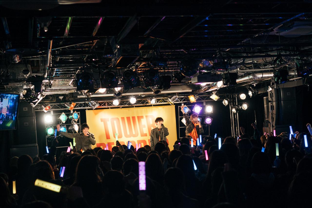 11月15日@タワーレコード渋谷店・CUTUP STUDIO
