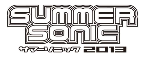 <SUMMER SONIC 2013>ロゴ