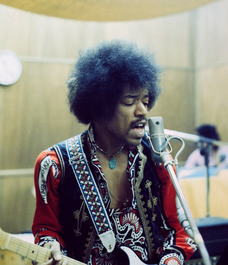 JIMI HENDRIX photo by Chuck Boyd