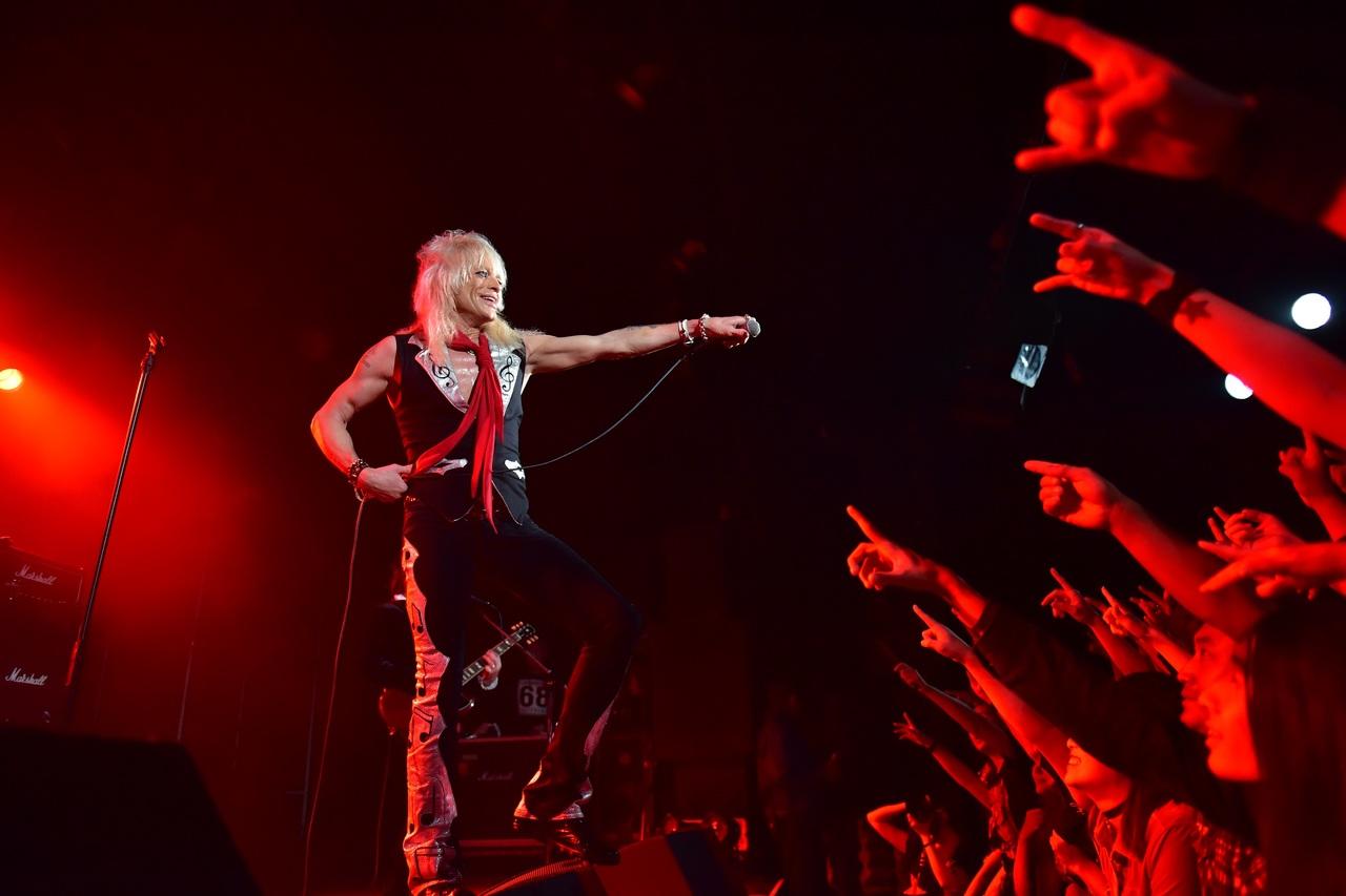 Michael Monroe Live photo by Yuki Kuroyanagi