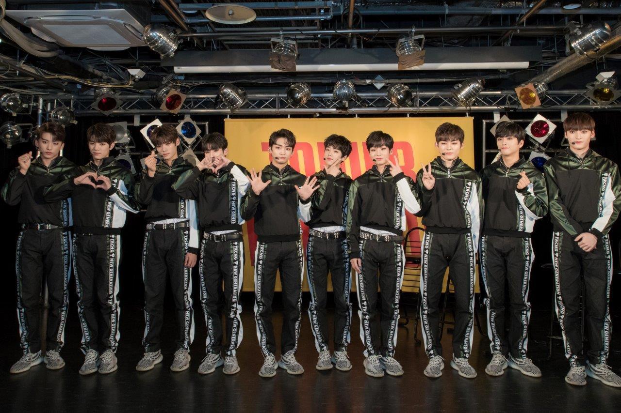 TRCNG 平均年齢16.3歳の10人組のK-POPボーイズ・グループ、TRCNGが初来日イベントが大盛況で終了