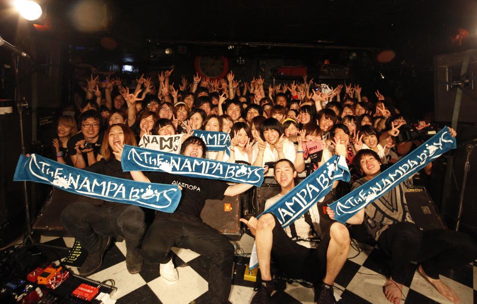 THE NAMPA BOYS@7月8日下北沢Shelter