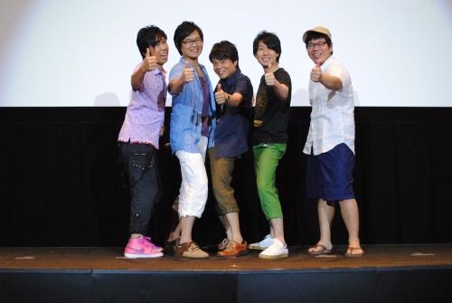 舞台挨拶に登壇した「銀魂」真選組キャストのみなさんと藤田陽一監督