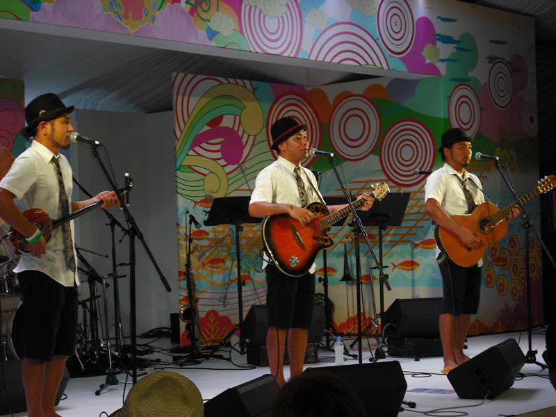7月25日@めんそ~れ~大沖縄展 オリオンビアフェスト