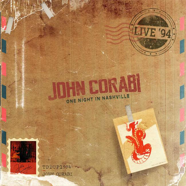 ジョン・コラビがMOTLEY CRUE時代のアルバムを再現したソロ・ライヴ・アルバム「Live '94(One Nigh in Nashville)」をリリース!