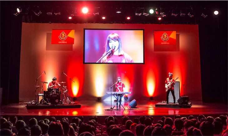 クアイフ、名古屋グランパス新体制発表会で新オフィシャルサポートソング初披露!