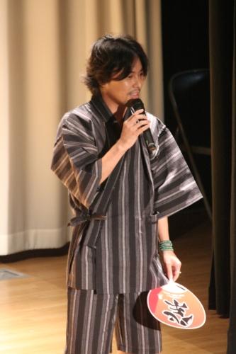 『ギリギリアウト!?』初イベントより、断髪前の吉野裕行
