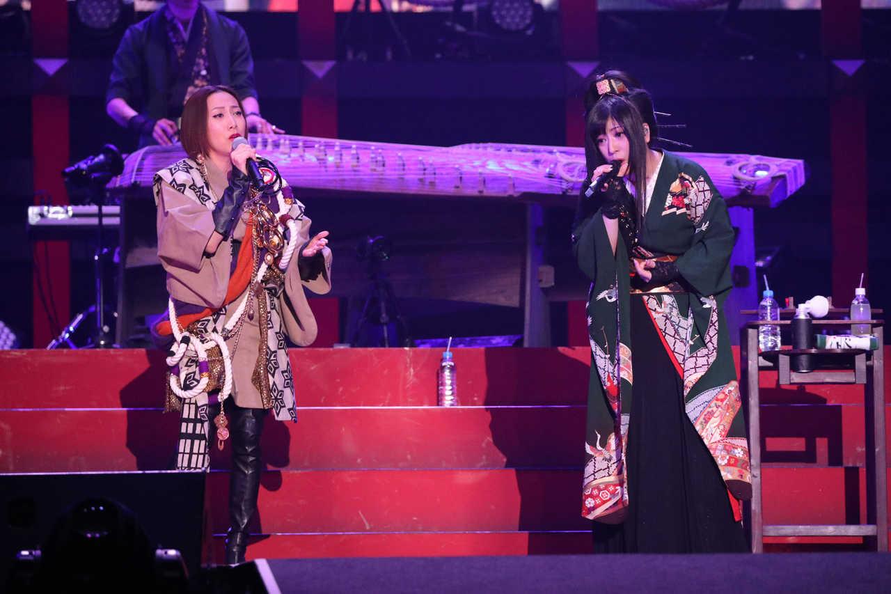 和楽器バンド、横浜アリーナで15,000人と大新年会!! サプライズで一青窈が登場!