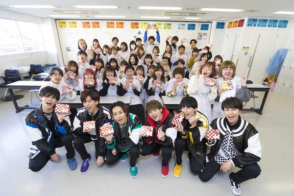 超特急が国際文化理容美容専門学校 渋谷校を訪問 (okmusic UP's)