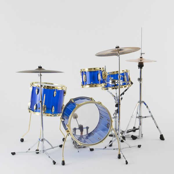 折り畳めるドラムセット「Foldrum」 (okmusic UP's)