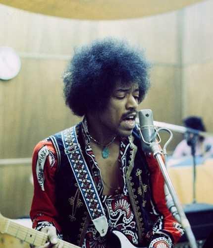Jimi Hendrix photo Chuck Boyd (okmusic UP's)