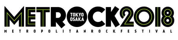 『METROPOLITAN ROCK FESTIVAL』ロゴ (okmusic UP's)