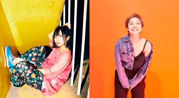 歌川菜穂(赤い公園)&Yuumi(DE BESO) (okmusic UP's)