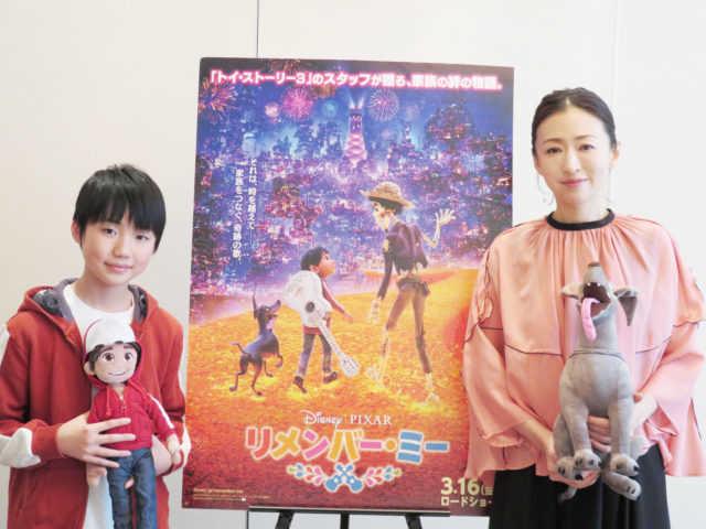 石橋陽彩(左)と松雪泰子