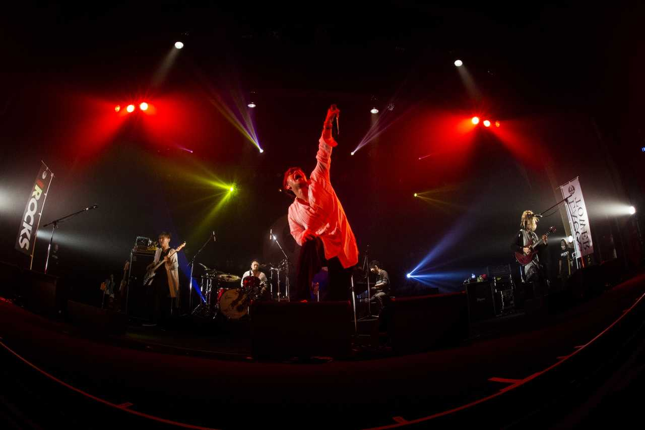LACCO TOWER ライブ写真