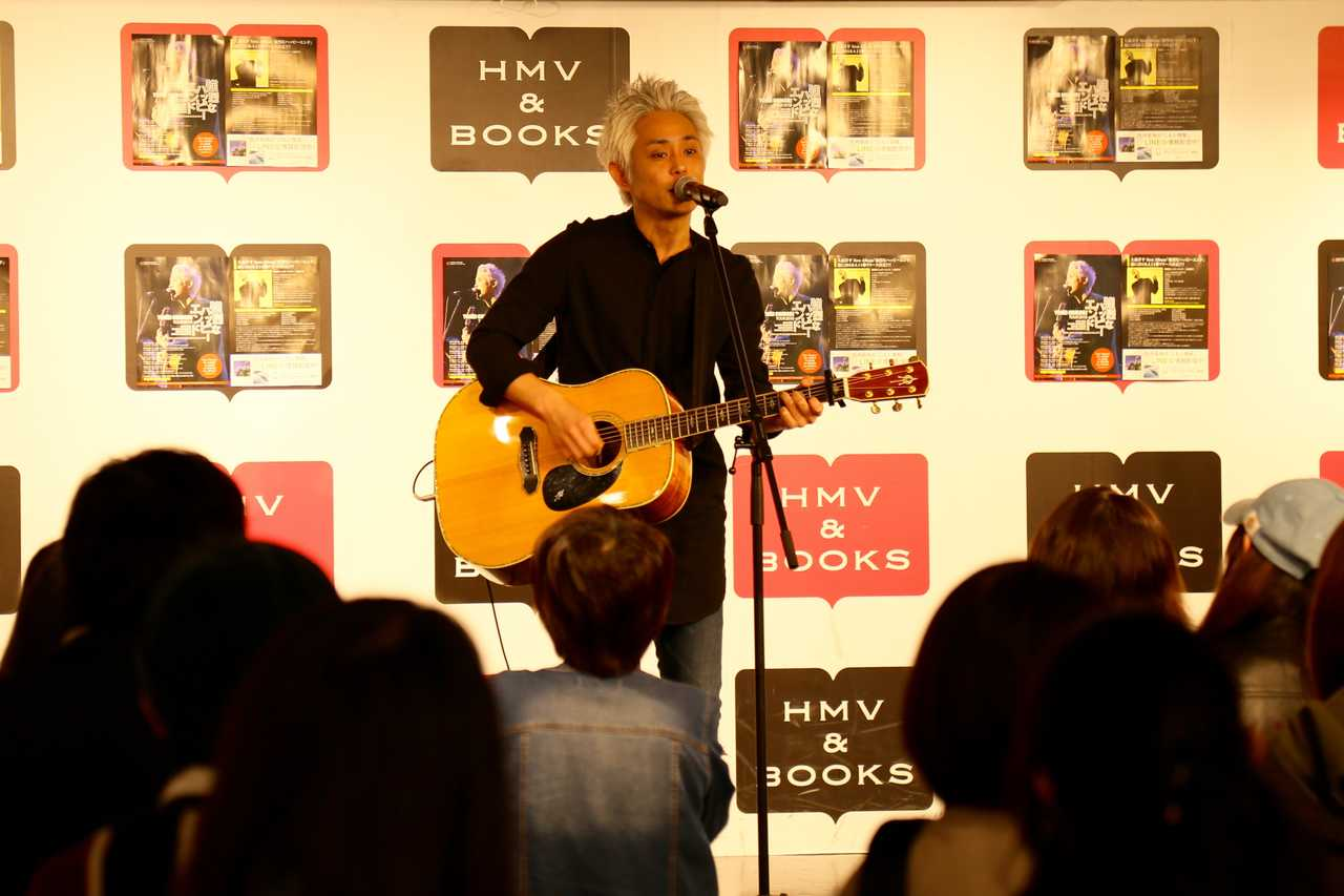 4月11日@HMV & BOOKS SHIBUYA