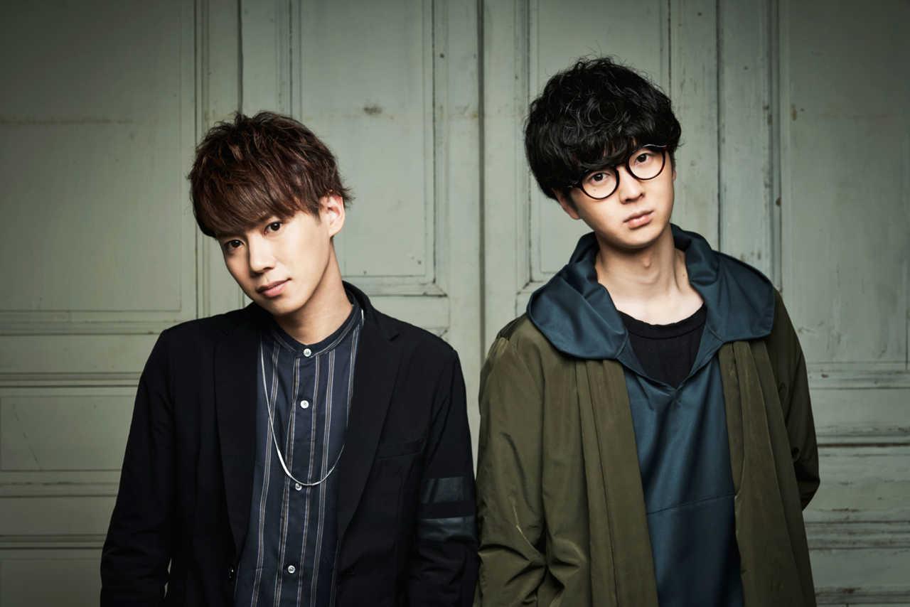 L→R 吉田理幹(Pf&Vo)、佐々木陽吾(Gu&Vo)