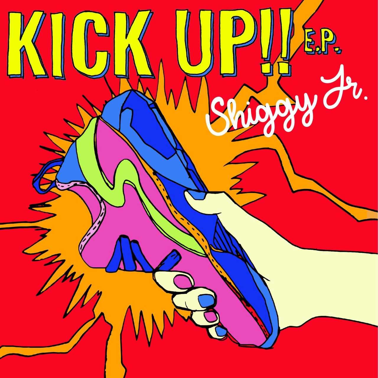 EP『KICK UP!! E.P.』【通常盤】