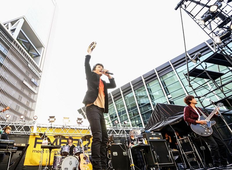 11月9日(土)@グランフロント大阪 うめきた広場