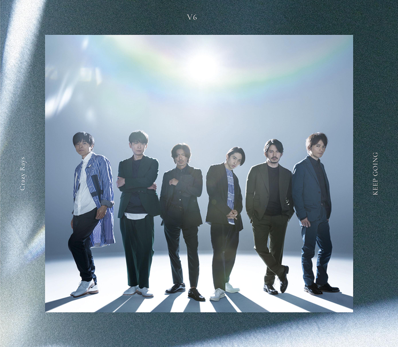 シングル「Crazy Rays/KEEP GOING」【通常盤】(CD)