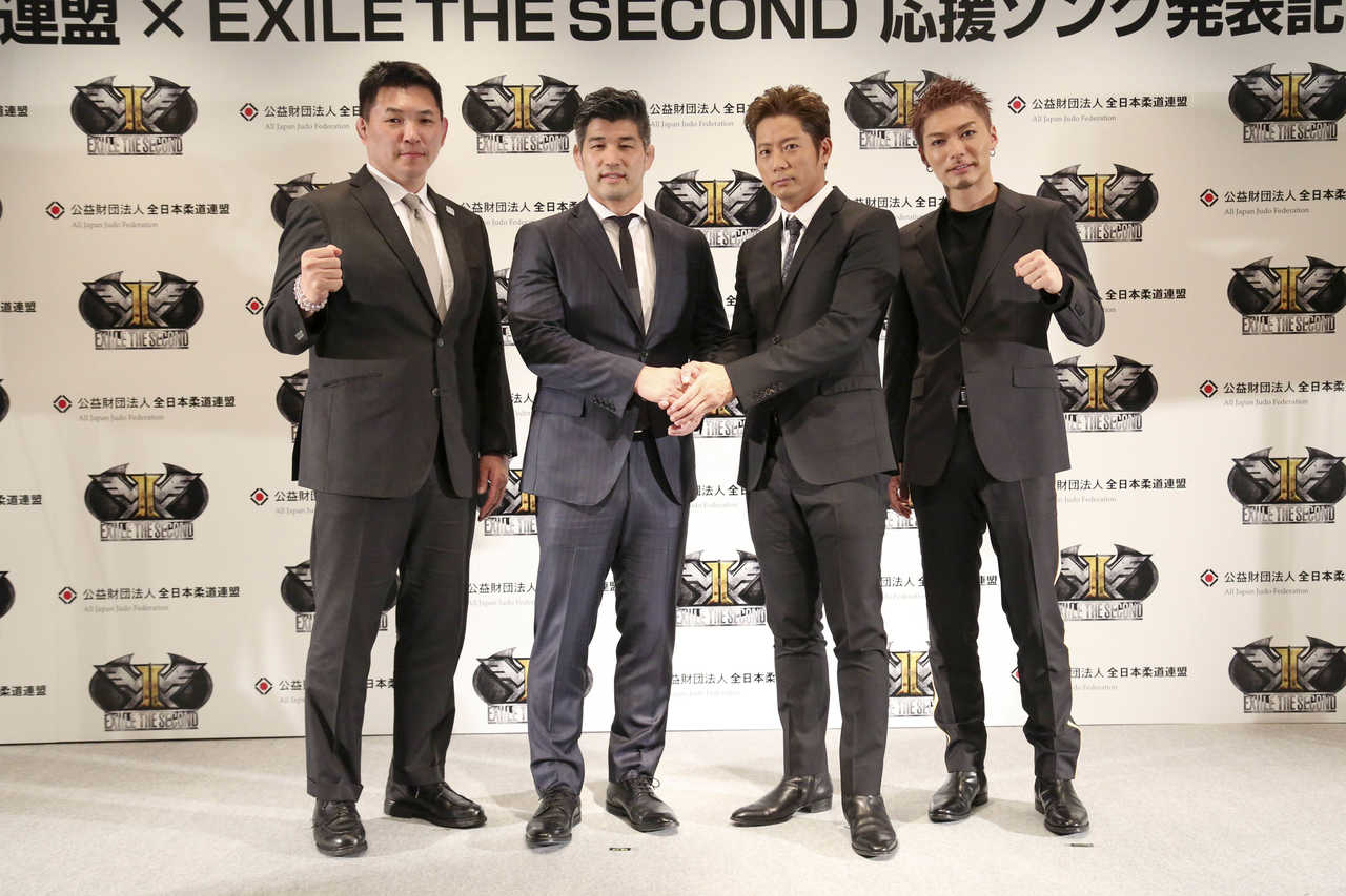 "EXILE THE SECOND、""柔道界初""の応援ソング「日昇る光に ~Pray for Now~」を担当!"