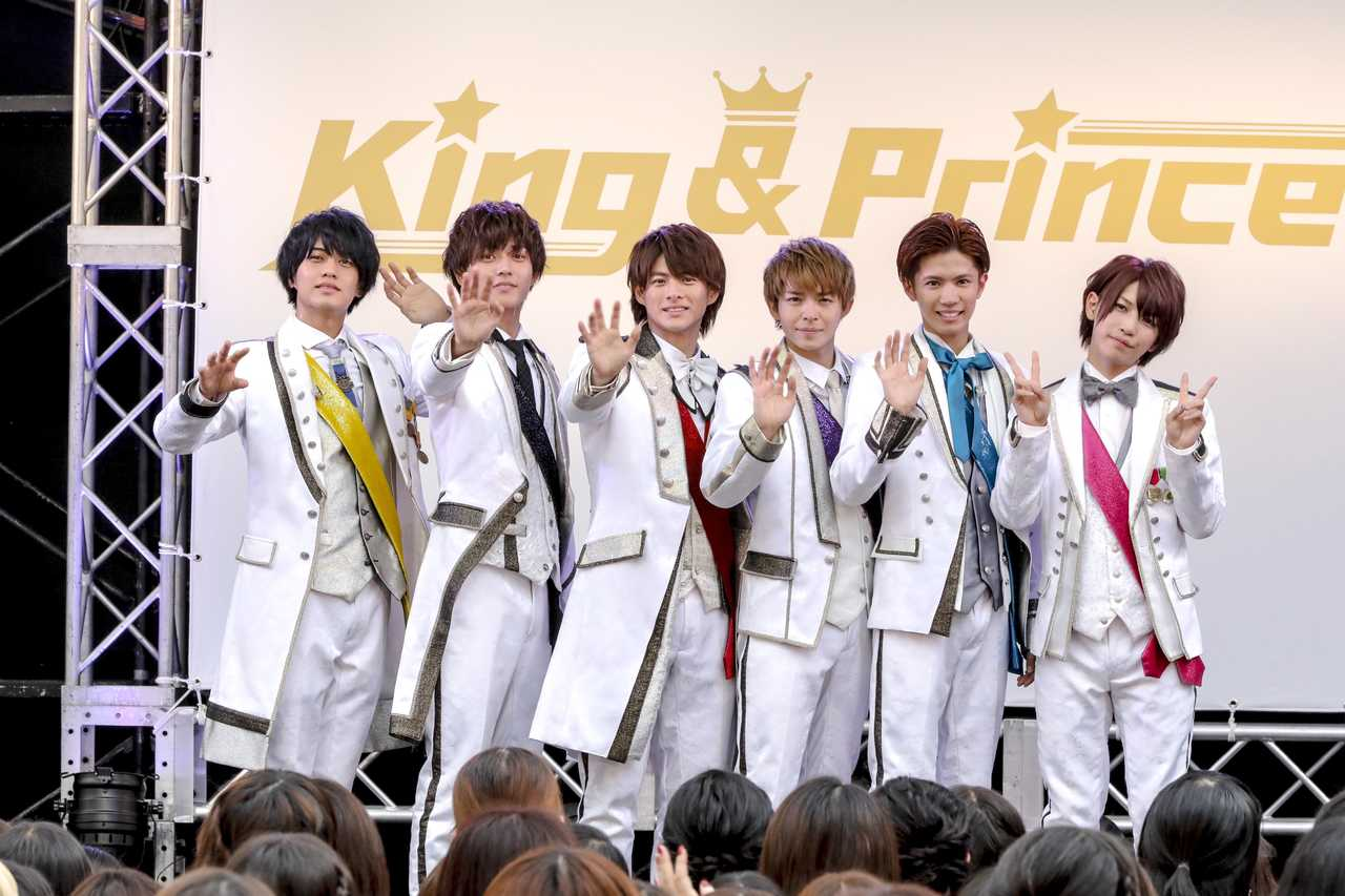 6人組アイドルグループ King Princeの格好いい高画質な画像の壁紙