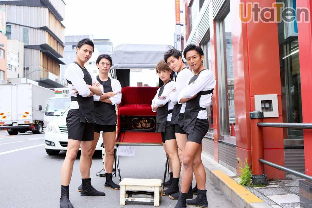 【インタビュー】 浅草の人力車を引っ張る5人組ユニット・東京力車、男気溢れる彼らの素顔を徹底解剖!!