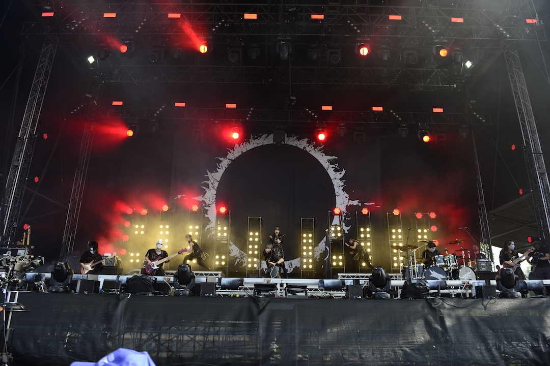 5月9日(現地時間)@『Download Festival UK』 (c) Amuse Inc.  Photos by Photos by Enda Madden