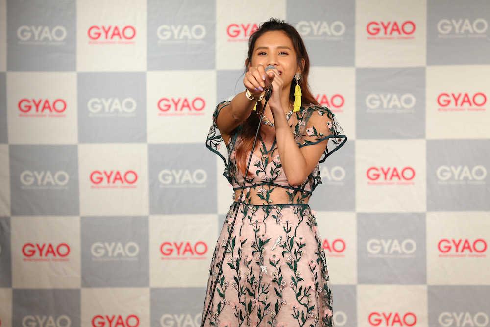 『Beverly 「24」発売記念 TWENTY FOUR限定 GYAO!プレミアムライブ』