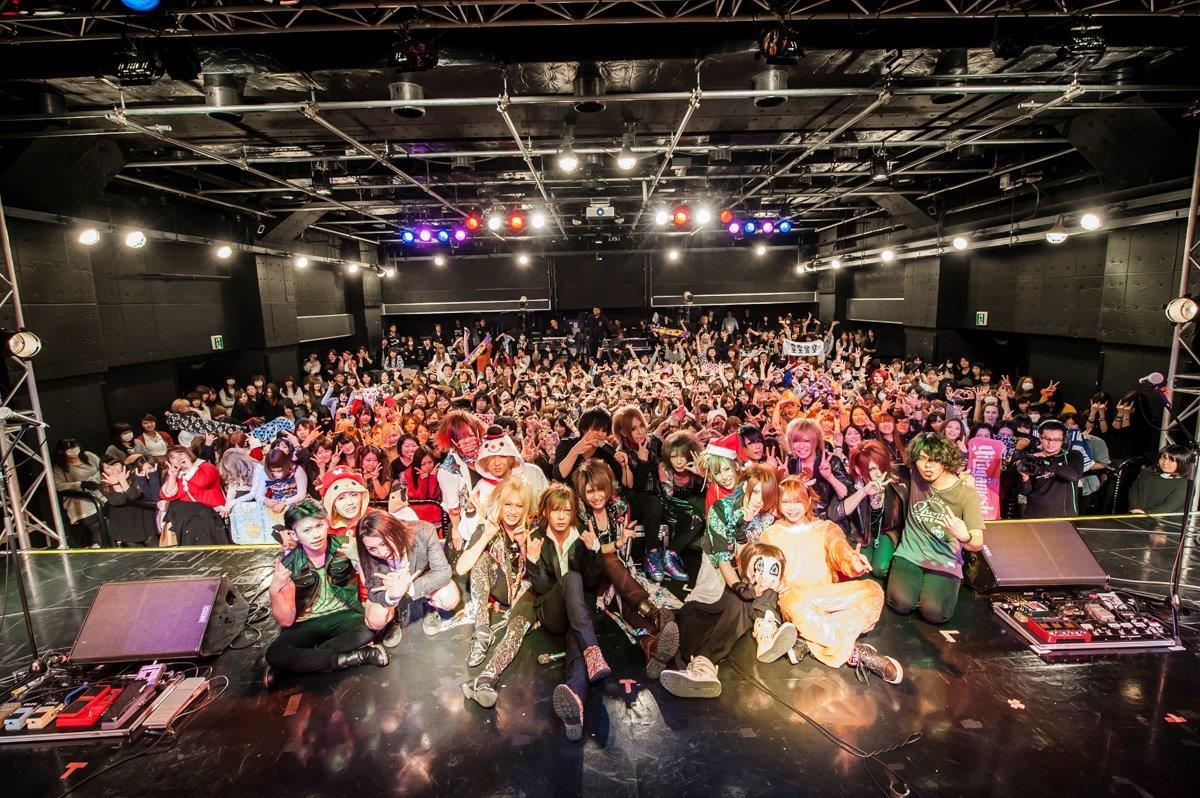 12月23日(月・祝)@新宿BLAZE photo by 釘野孝宏