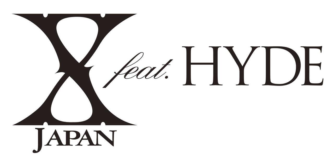 X JAPAN feat. HYDE ロゴ