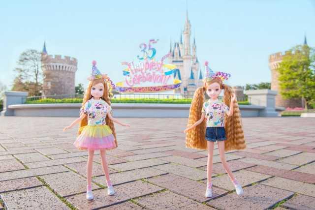 東京ディズニーリゾート|35周年ファッションドールお着替え&小物セット ©Disney