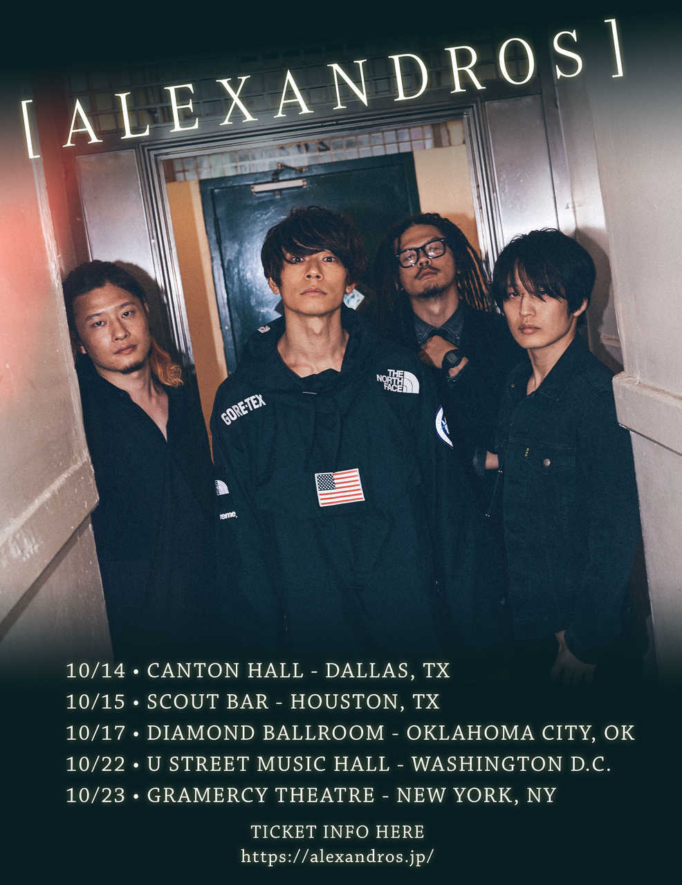 『[ALEXANDROS] USA TOUR 2018』