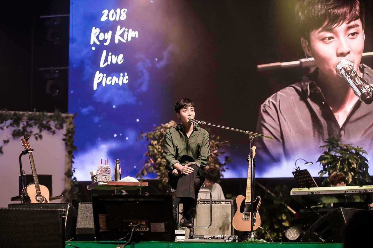 ロイ・キム、韓国の実力派シンガーソングライター韓国にてファンミーティングを開催!今後の日本での活動も期待!