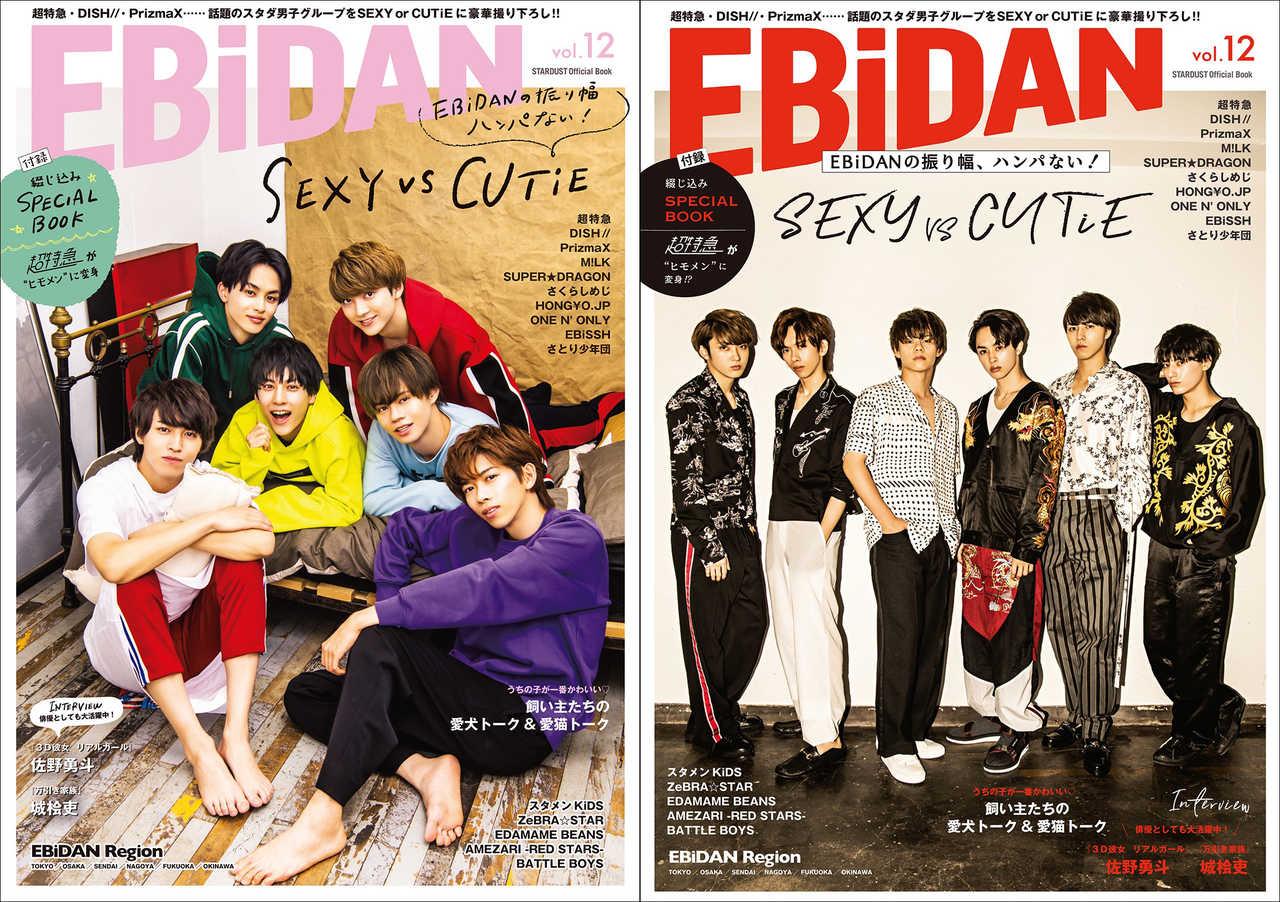 『EBiDAN vol.12』【Loppi・HMV限定版】【通常版】表紙