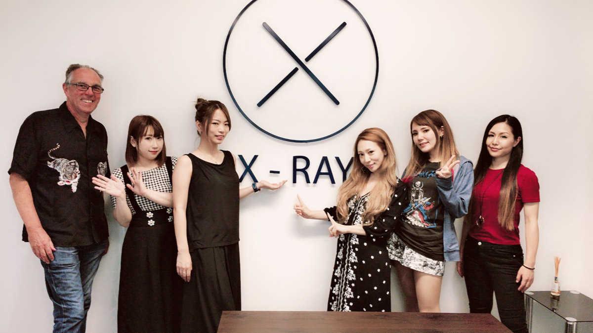 X-ray Touringオフィス訪問時写真